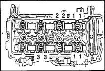 Проверка и регулировка зазоров в приводе клапанов 1NZ-FE и 2NZ-FE