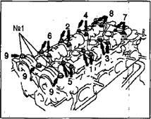 Установка головки блока цилиндров 1NZ-FE и 2NZ-FE