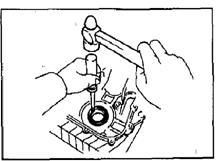 Замена переднего сальника коленчатого вала 1ZZ-FE