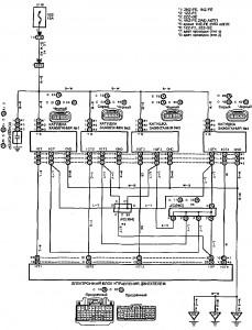 Схема 1.1: Система зажигания (седан, универсал)