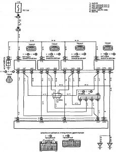 Схема 1.2: Система зажигания (хэтчбек)
