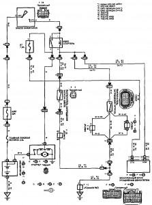 Схема 1.4: Система запуска (хэтчбек)