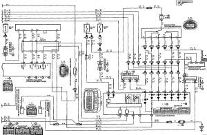 Схема 12.2: Система электронного управления АКПП (модели с двигателем 1ZZ-FE) (часть 2)