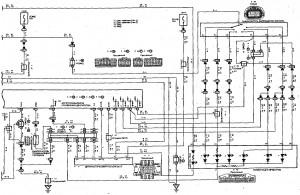 Схема 13.2: Система электронного управления АКПП (хэтчбек, модели с двигателем 1NZ-FE) (часть 2)