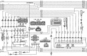 Схема 14.2: Система электронного управления АКПП (хэтчбек, модели с двигателем 2ZZ-GE) (часть 2)