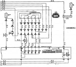 Схема 14.3: Система электронного управления АКПП (хэтчбек, модели с двигателем 2ZZ-GE) (часть 3)