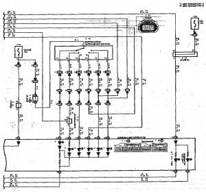 Схема 15.3: Система электронного управления АКПП (седан, универсал, модели с двигателем 2ZZ-GE) (часть 3)