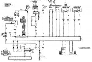 Схема 18: Система SRS (седан, универсал)