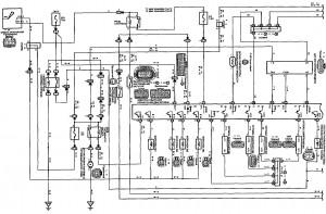 Схема 2.1: Система управления двигателем (модели с двигателем 2NZ-FE) (часть 1)