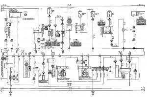 Схема электрооборудования тойота селика