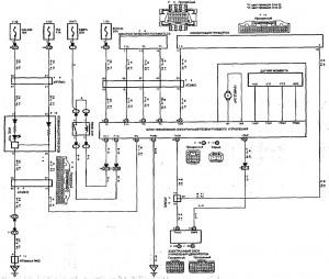 Схема 22: Рулевое управление с электроусилителем