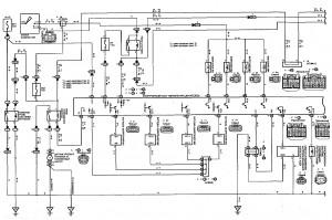 Схема 3.1: Система управления двигателем (модели с двигателем 1ZZ-FE) (часть 1)