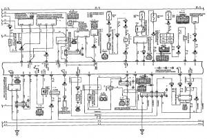 Схема 4.2: Система управления двигателем (хэтчбек, модели с двигателем 1NZ-FE) (часть 2)