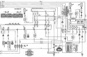 Схема 5.3: Система управления двигателем (хэтчбек, модели с двигателем 2ZZ-GE) (часть 3)