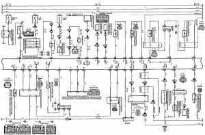 Схема 6.2: Система управления двигателем (седан, универсал, модели с двигателем 2ZZ-GE) (часть 2)