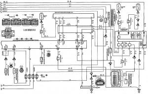 Схема 6.3: Система управления двигателем (седан, универсал, модели с двигателем 2ZZ-GE) (часть 3)