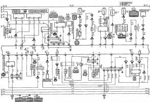 Схема 7.2: Система управления двигателем (хэтчбек, модели с двигателем 1NZ-FE) (часть 2)