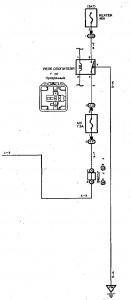 Схема 7.4: Система управления двигателем (хэтчбек, модели с двигателем 1NZ-FE) (часть 4)