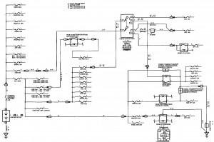 Схема 9: Распределение электропитания (седан, универсал)