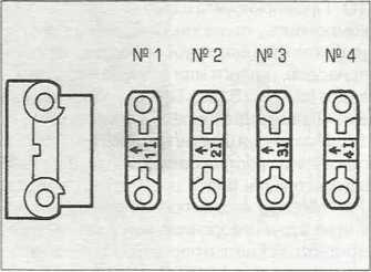фото нумерации опор