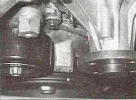 Верхняя мертвая точка (ВМТ) для поршня № 1 - установка