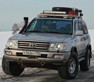 ... для внедорожных экспедиций Toyota Land Cruiser - то, что надо...
