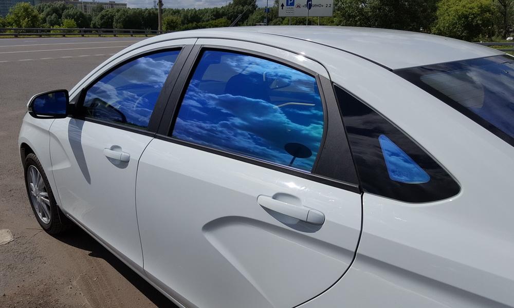 Атермальная пленка для тонировки авто фото