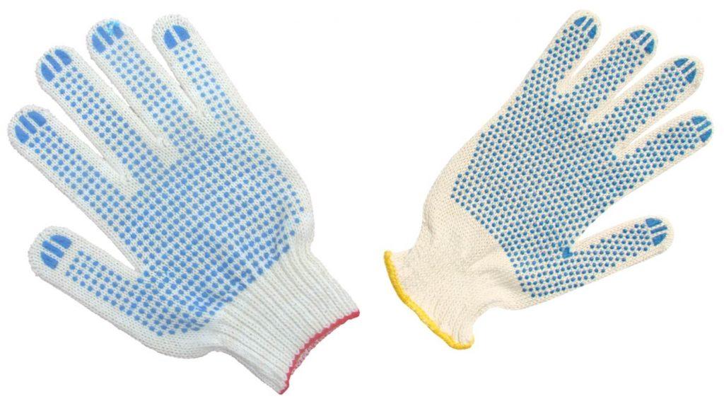 Перчатки хб фото2