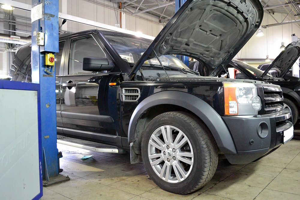 Специализированный сервис Land Rover фото