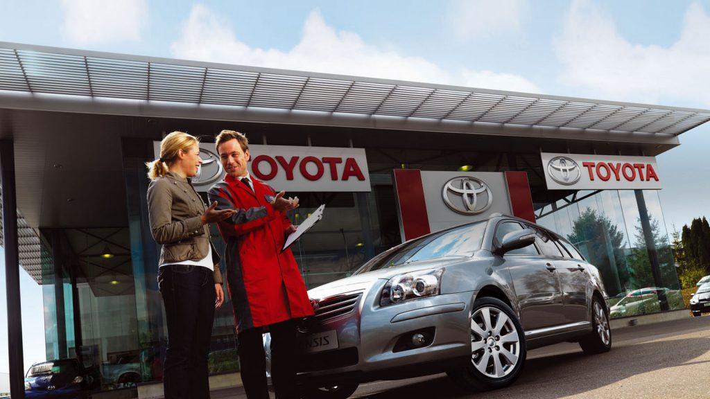 Обслуживание Toyota у официального дилера фото2