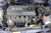 Что такое VIN и где находится номер двигателя Тойота Королла