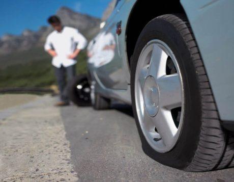 Спущенные шины