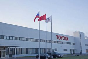 Завод Тойота в Питере