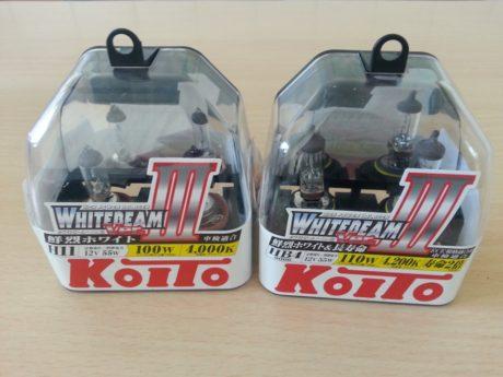 Лампы Koito Whitebeam
