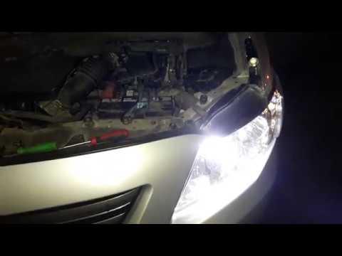 Как заменить лампы на автомобиле Тойота Королла