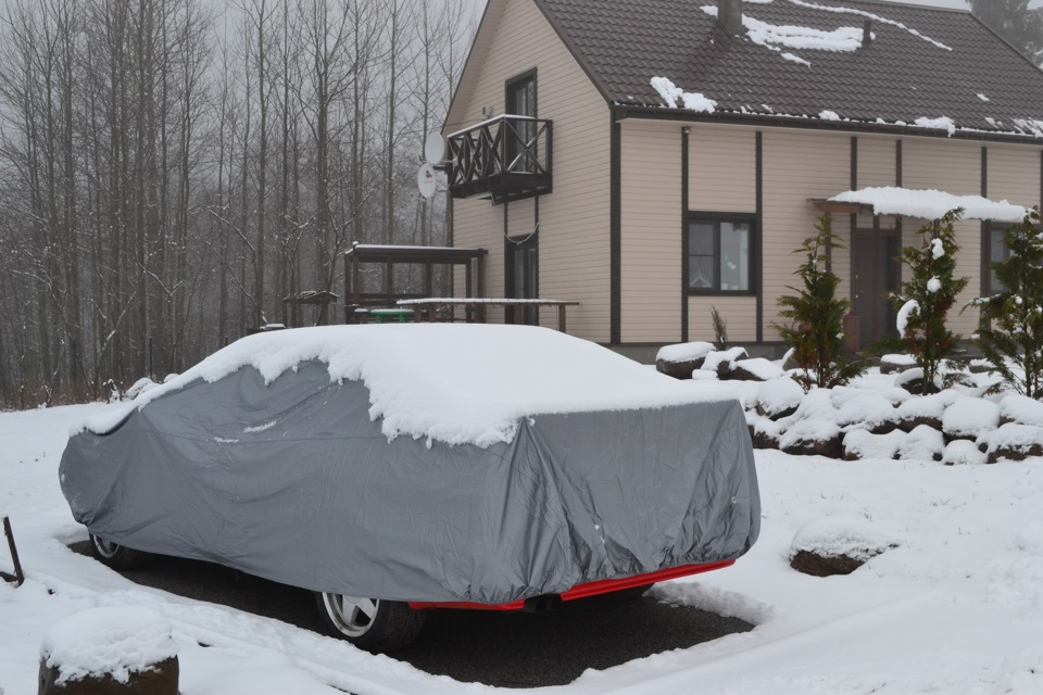 Хранение автомобиля на улице. Зимняя консервация