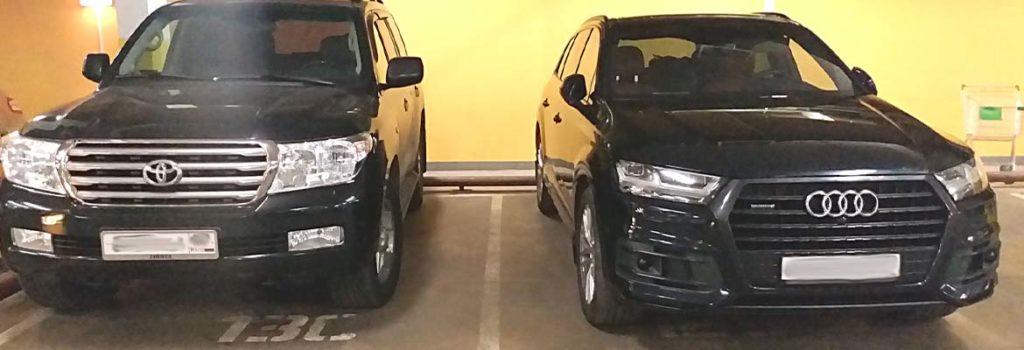 Тойота против Ауди