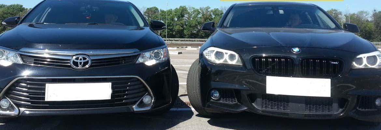 Тойота против БМВ