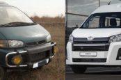 Микроавтобусы Mitsubishi Delica и Toyota Hiace. Выбираем лучший