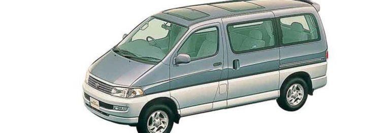 Обслуживание ступичного подшипника на примере Toyota Hiace Regius