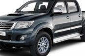Объём, вязкость и замена масла Toyota Hilux