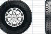 Как узнать размер колес Toyota Hilux