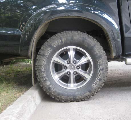 Размер колес Тойота