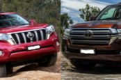 Сравнение характеристик Land Cruiser 200 и Land Cruiser Prado