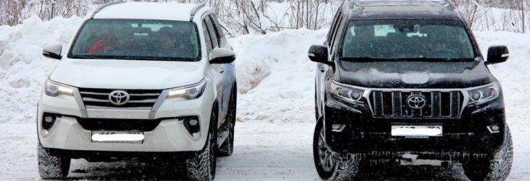 Как выбрать внедорожник и что лучше – Тойота Ленд Крузер Прадо или Тойота Фортунер
