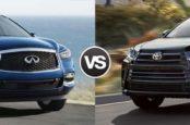 Что выбрать: QX60 или Highlander?