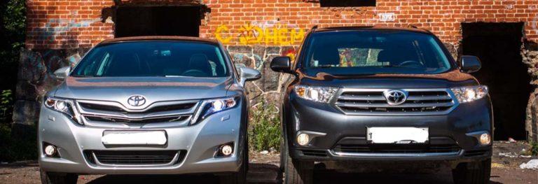 Toyota Highlander или Toyota Venza?