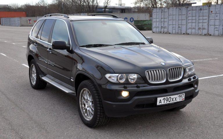 Преимущества б/у автомобиля BMW X5