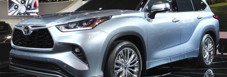 Салон Toyota Highlander 2020