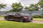 Обзор Lexus LS 500h 2019 года